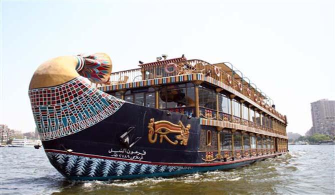 الباخرة الفرعونية - السفينة الفرعونية - مركب فرعون النيل